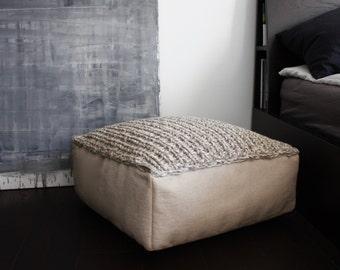 ottoman etsy. Black Bedroom Furniture Sets. Home Design Ideas