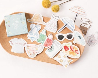 45 Pieces Girls Favorites Stickers