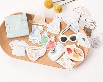 45 Pieces Girls Favorites Stickers
