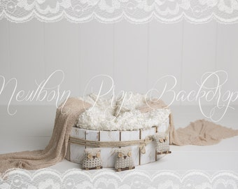 Newborn Digital Backdrop (bowl/owl)
