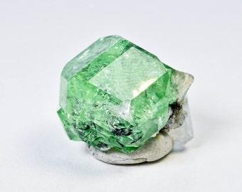Mint Green Tsavorite Grossular Garnet from Tanzania, Africa 31