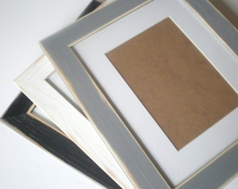 A2 picture frame rustic wood frame photo frame distressed frame shabby framing chicframeshop