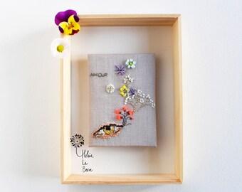 """Kit of embroidery """"IRIS"""" - Embroidery Kit """"IRIS"""""""