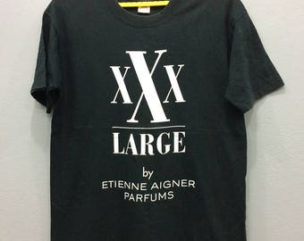 XXX Large by Etienne Aigner Parfums 90s Tshirt Made in Usa Large Size