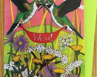WOW! Hummingbirds Card