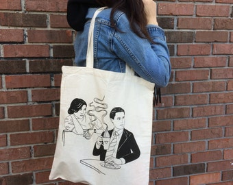 Twin Peaks Tote Agent Cooper Audrey Horne