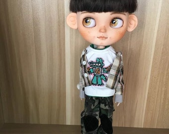 Shipping It By UPS.Made To Order.Custom Boy Icy Doll