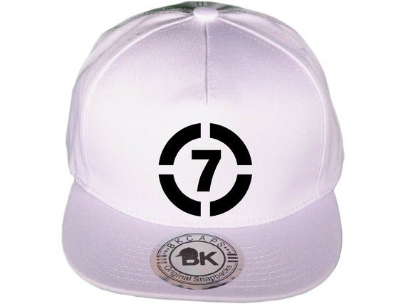Circle 7 Seven Snapback hat White Purity