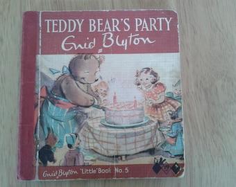 Teddy Bear's party by Enid Blyton