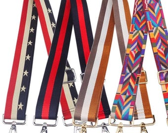 38mm Adjustable Nylon Stripe Strap Shoulder Webbing Buckles DIY Handbag Tote Bag Messengers Travel Bag Decorations Embellishment Supplies