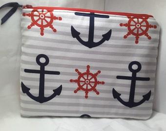 Anchor purse, anchor clutch , anchor bag