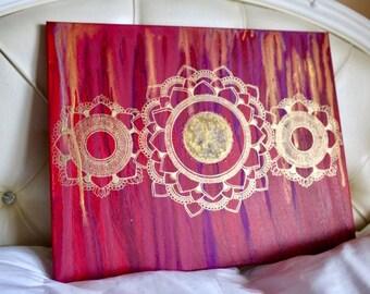 True Colors Mandala Painting
