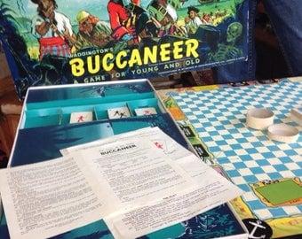 Bucaneer vintage board game 1960's pirates