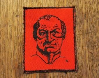 Marquis de sade hand embroidered patch
