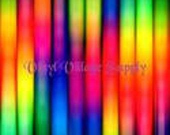 Grasping At Rainbow Straws Printed Adhesive Vinyl Sheet 12x11.5