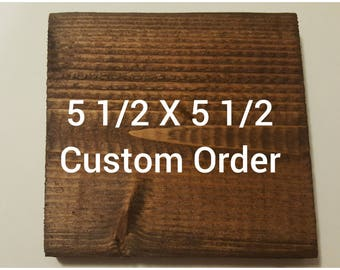 Wood Sign Home Decor - Wood Sign With Sayings -Wood Signs With Quotes