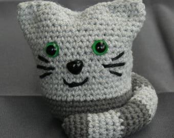 Super cute little crochet small cotton cuddle