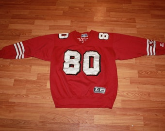 San Fransisco 49ers #80 Jerry Rice Starter Sweater Jersey
