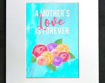 A Mother's Love • Matted Print