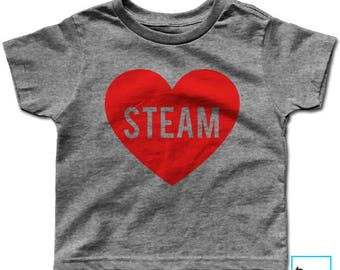 STEAM | Kids Science T-shirt | Science Shirt | Science Tee | Science T-shirt | March for Science | Science March | Kids T-shirt