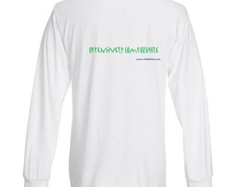 "100% Cotton Long Sleeve AhhSoles ""Offensively Comfortable"" T Shirts"