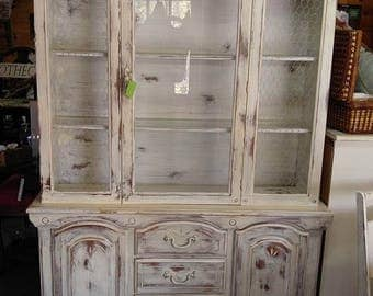 SOLD! China cabinet, contact for product availability, we do not ship