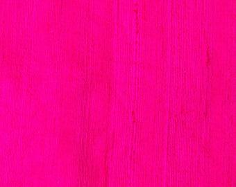 Pink Dupion Raw Silk