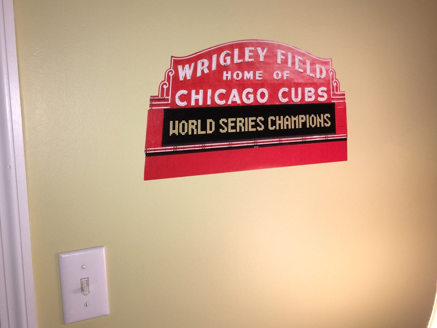 Wrigley field wall mural image collections home wall decoration wrigley field wall mural choice image home wall decoration ideas wrigley field wall mural images home amipublicfo Gallery