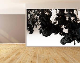 Wall Art Abstract Black and White Art Wallpaper HUGE