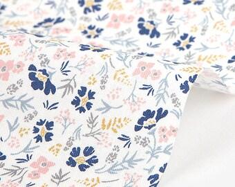 DailyLike Fabric (Cotton) - A warm heart : scabiosa