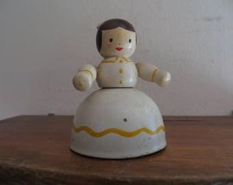 Vintage Lady Figural Bell