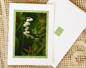 Lily of the Valley note card