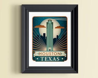 Texas Wall Art texas decor | etsy