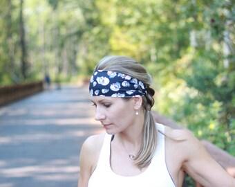 Biker Gang - Running Headband Yoga Headband Fitness Headband Spandex No Slip Active Style