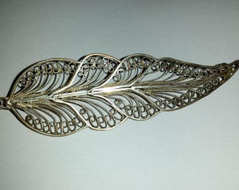 Vintage Indian silver Brooch