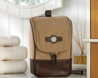 Monogram Travel Kit, Personalized Shaving Kit, Personalized TravelmKit
