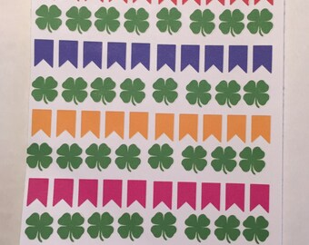 St Patty's Day flags
