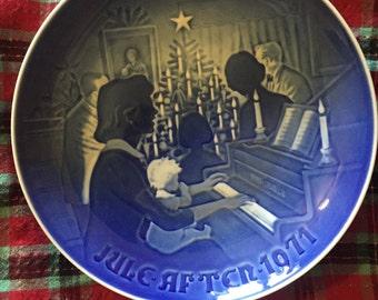 Vintage Bing & Grondahl Christmas plate 1971