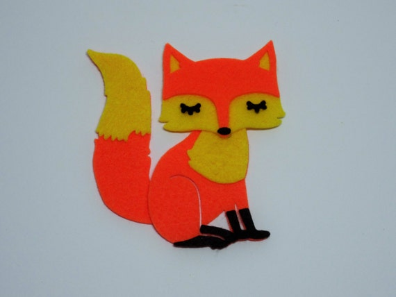 Items similar to felt fox die arts and crafts supplies for Felt arts and crafts