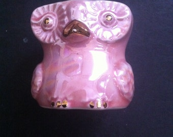 VINTAGE EGG CUP Of an Owl