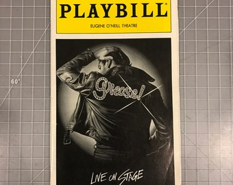 Grease Playbill 1994