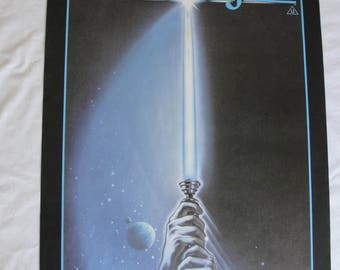 Return of the Jedi Poster 1982 - The Saga Continues