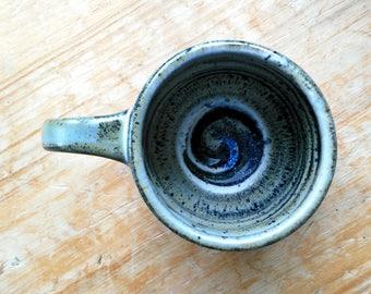 Stellar Stardust Mug with Blue Spiral
