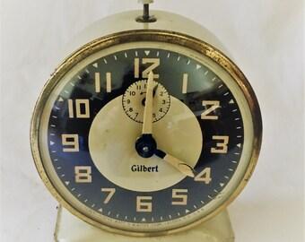 Gilbert Wind Up Clock