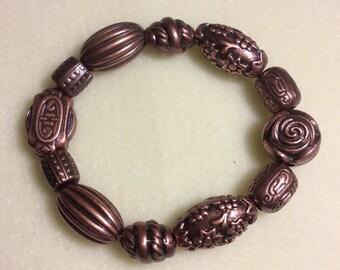 Bronze Rose Bracelet