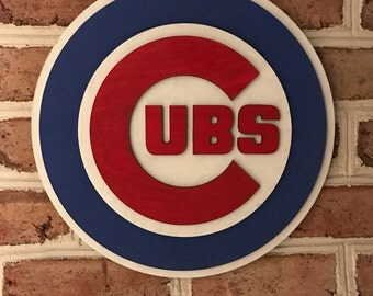 Chicago Cubs Art Etsy