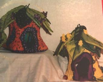 Enchanted Fairy Cottages Leaf Roof cottage #002 pattern