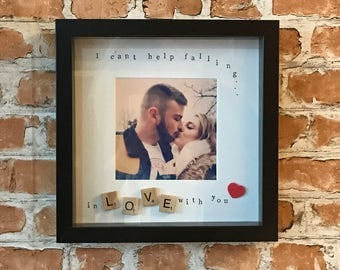 I can't help falling in love with you - Photo Frame