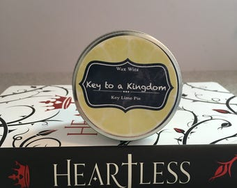 Key to a Kingdom - Heartless Inspired Candle