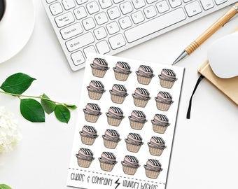 Laundry Baskets- Original Hand Drawn Planner Stickers. Neutral/pink, Clothes, Wash. Happy Planner, Erin Condren, Travelers Notebook